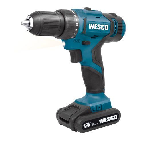 Wesco accuschroefboormachine WS2906K 18V Starterkit
