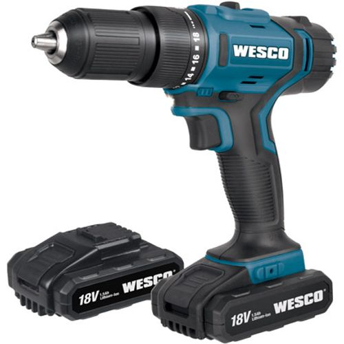 Wesco schroef- en klopboormachine 'WS2908K2' 18V
