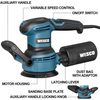 Wesco excentrische schuurmachine WS4258