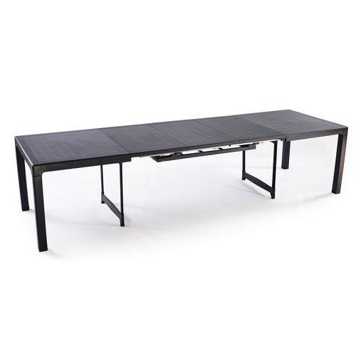 Table de jardin Keter 'Sonata' polypropylène gris 322 x 97 cm