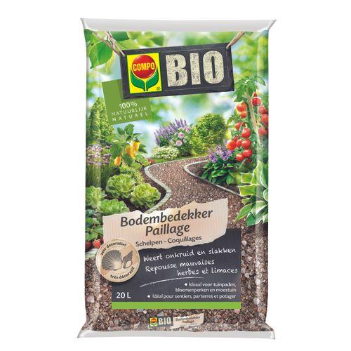 Compo Bio bodembedekker Schelpen 20L