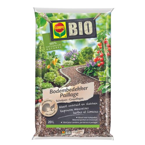 COMPO Bio Schelpen 20L
