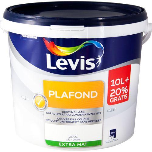 Levis plafondverf wit 12L