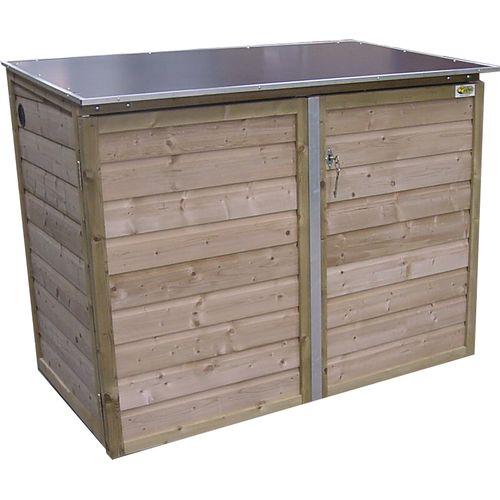 Lutrabox tuinkast laag 141x113x122cm