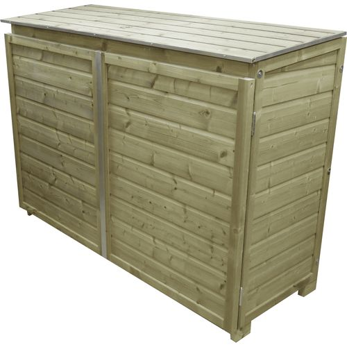 Lutrabox afvalcontainerkast 3 containers 187x90x125cm