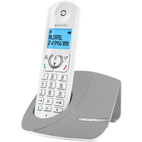 Alcatel draadloze DECT telefoon F380 grey solo
