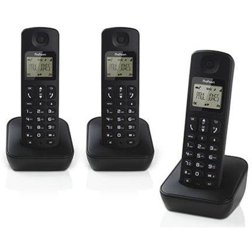 Profoon draadloze DECT telefoon PDX-930 triple