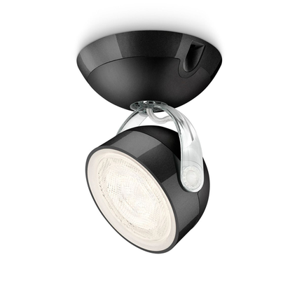 Philips spotlamp 'Dyna' zwart 1x3W