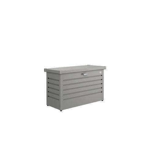 Biohort kussenbox Hobby 100 kwartsgrijs metallic 46x101cm