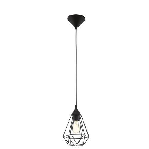 EGLO hanglamp Tarbes zwart E27
