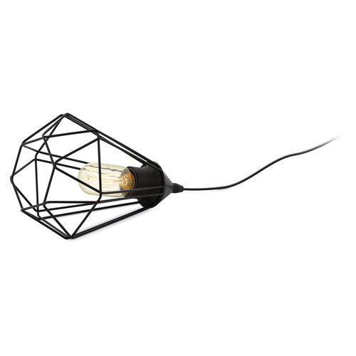 Lampe de table EGLO Tarbes noire E27