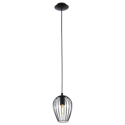 EGLO hanglamp Newtown zwart E27