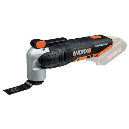 Worx snoerloze multi-tool zonder accu 'WX678.9' 20V