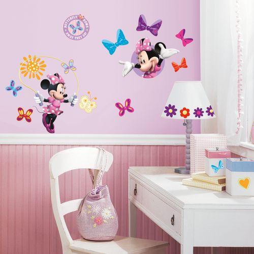 RoomMates muursticker Minnie Mouse 4 vel 25x46 cm