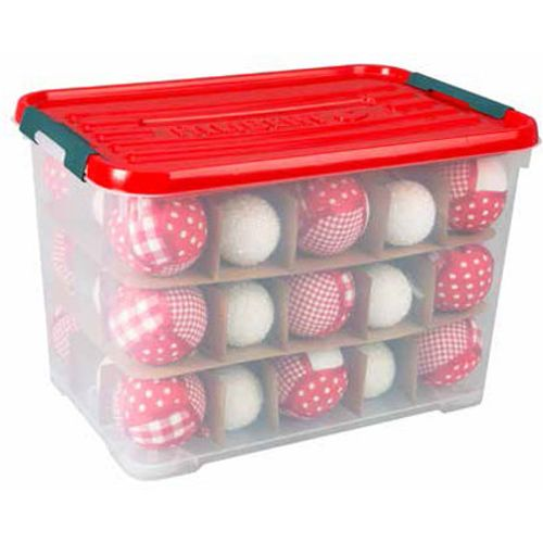 Allibert kerstballenbox 65L