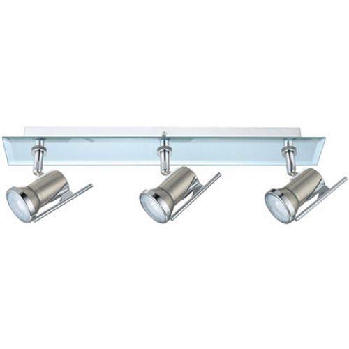 Eglo spotlamp 'Tamara 1' nikkel/chroom 3 x 3,3 W