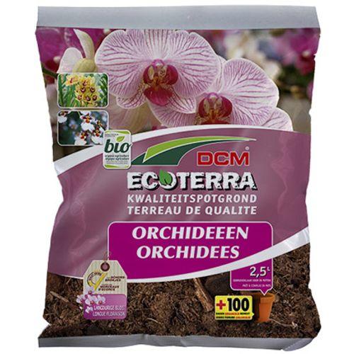 Terreau DCM 'Ecoterra' orchidées 2,5 L