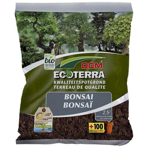 Terreau DCM 'Ecoterra' bonsai 2,5 L
