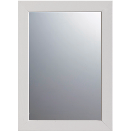 Pierre Pradel spiegel 'Javea White' 35 x 48 cm
