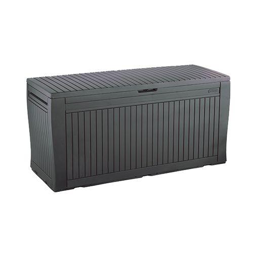 Keter kussen opbergbox Comfy antraciet 117x45cm