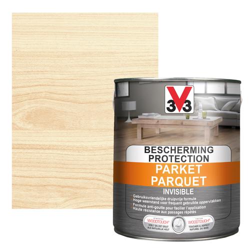 V33 parketlak Invisible Protection Parket transparant mat 2,5L