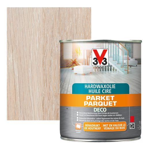 Huile cire de parquet V33 chêne moyen mat 2,5L