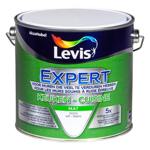 Peinture spéciale cuisine Levis 'Expert' blanc 2,5L