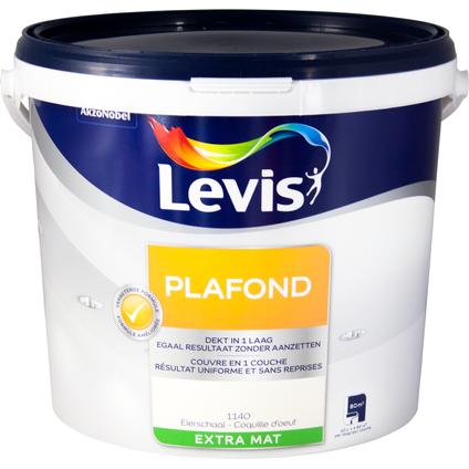 Levis plafondverf extra mat eierschaal 10L