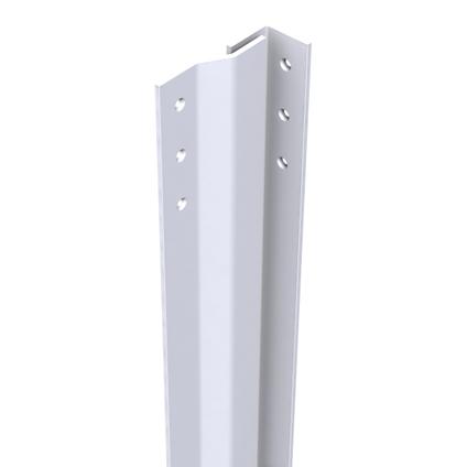 SecuStrip Basic anti-inbraakstrip voordeur binnendr 2050mm wit