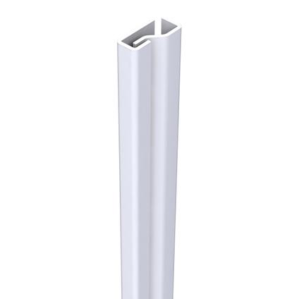 SecuStrip Plus anti-inbraakstrip voordeur binnendr 2050mm wit