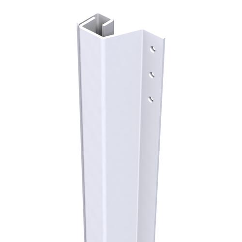 SecuStrip Plus anti-inbraakstrip achterdeur buitendr 21-27mm 2115mm wit