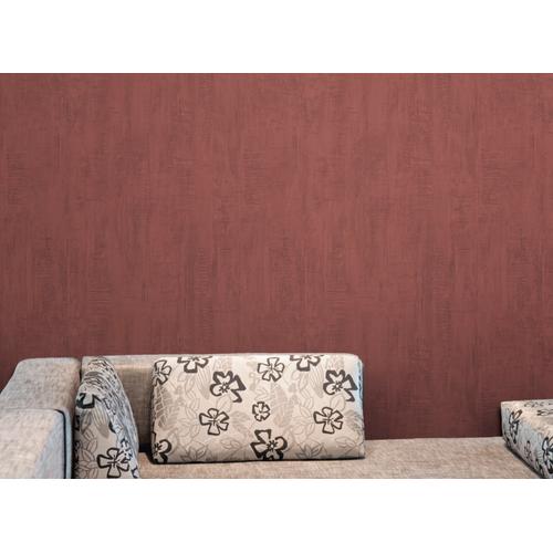 Vinylbehang 'Roma' rood 53 cm x 10 m