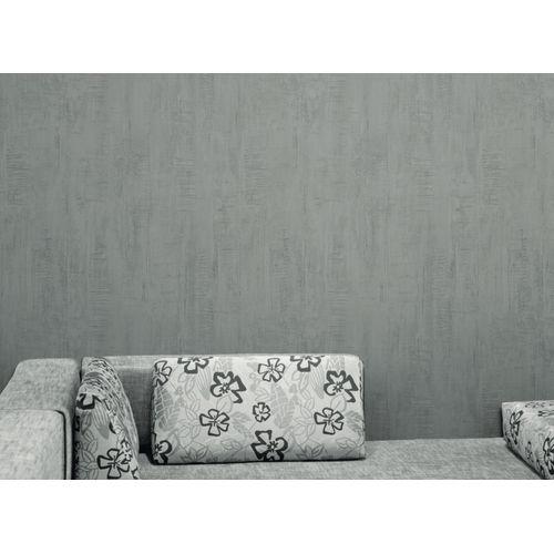 Vinylbehang 'Roma' donkergrijs 53 cm x 10 m