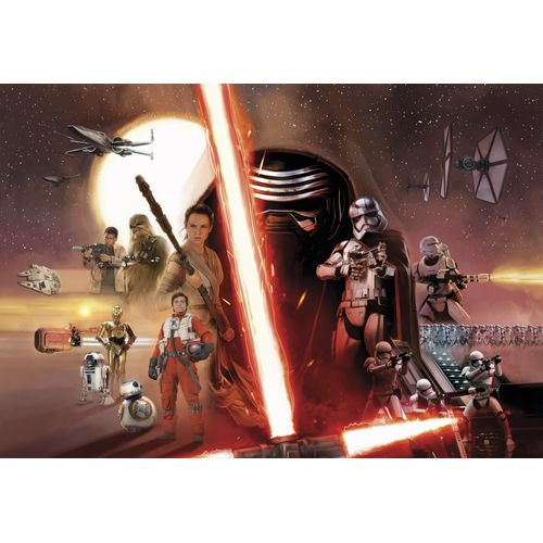 Star Wars fotobehang Collage poster
