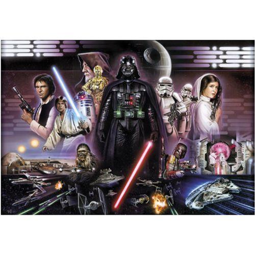 Star Wars fotobehang Darth vader collage