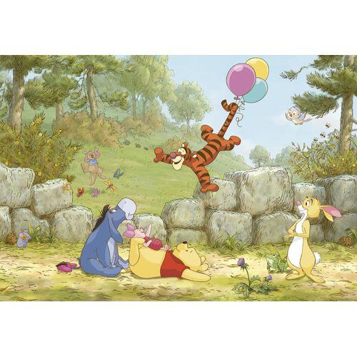 Disney fotobehang Winnie de Poeh ballooning