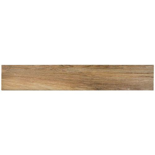 Plinthe pour carrelage sol 'Grange Pine' chêne 7 cm