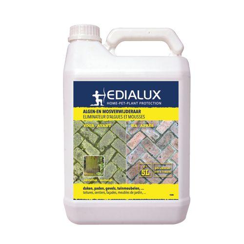Spray éliminateur d'algues et mousses Edialux 5 L