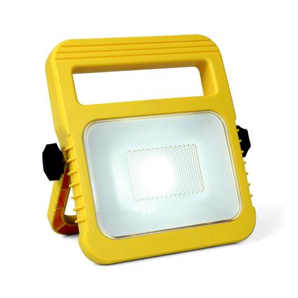 Lutec tafellamp Utin geel 10W