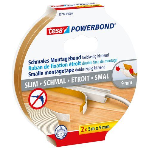 Bande de montage Tesa Powerbond 9 mm x 5 m