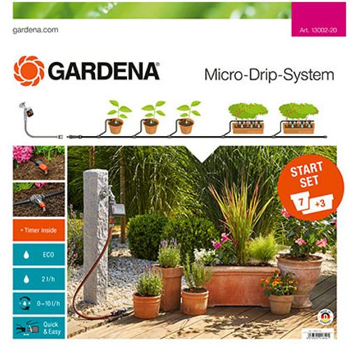 Gardena Micro-Drip startset balkon