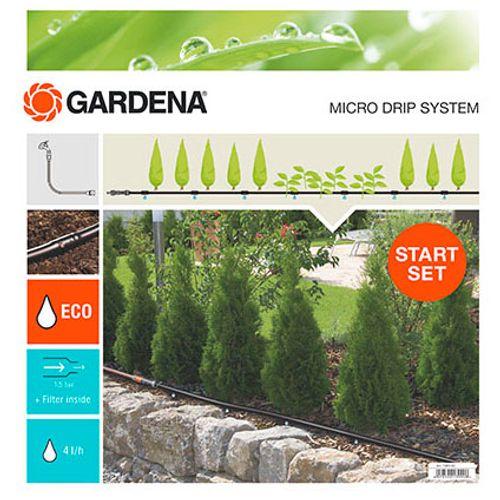 Kit pour rangées de plantes Gardena 15 m