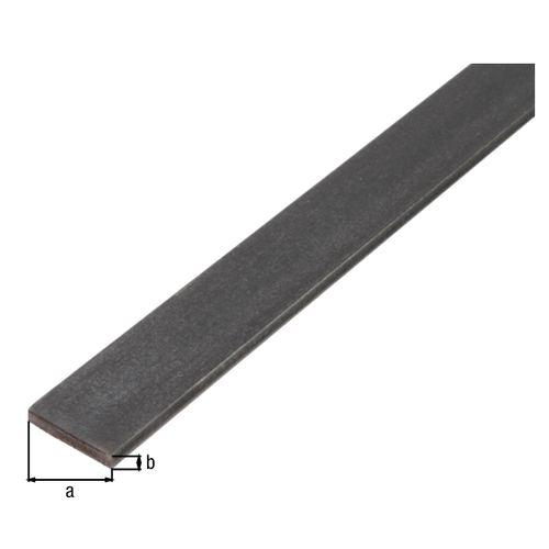 GAH Alberts plat profiel staal antraciet 2 m x 3 cm