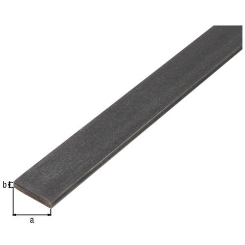 Profilé plat GAH Alberts acier laminé à chaud 1 m x 3 cm