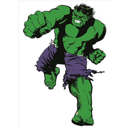 Marvel muursticker 'Life size'