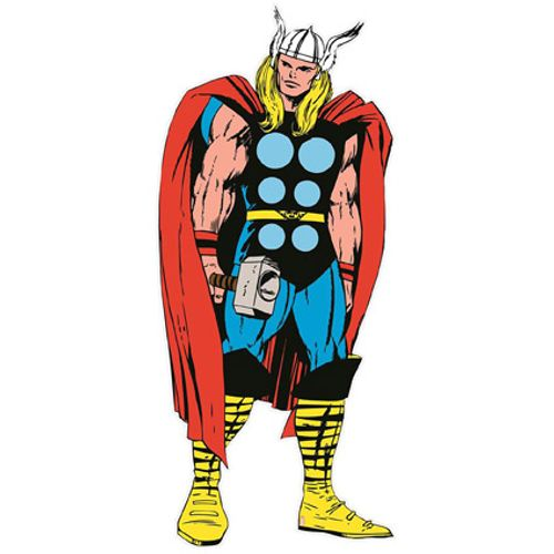 Sticker mural Marvel 'Thor' life size