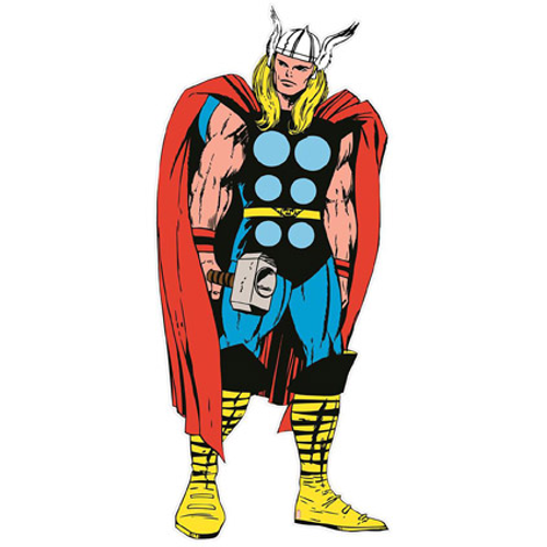 Sticker mural Marvel 'Thor' life size