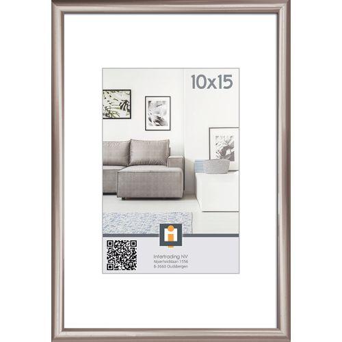 Intertrading fotolijst antraciet 10 x 15 cm