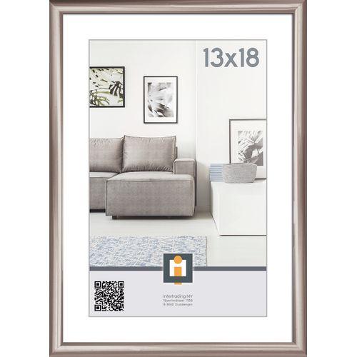 Intertrading fotolijst antraciet 13 x 18 cm