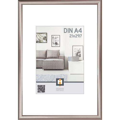 Intertrading fotolijst antraciet 21 x 30 cm